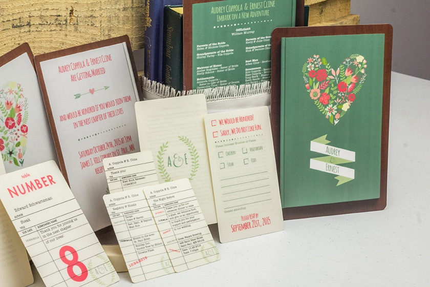 Wedding Invitation Process