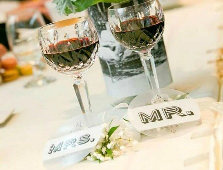 Custom Wedding Party Coasters by Plastic Printers